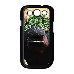 J-LV-F Phone Case Hippo Hard Back Case Cover For Samsung Galaxy S3 I9300