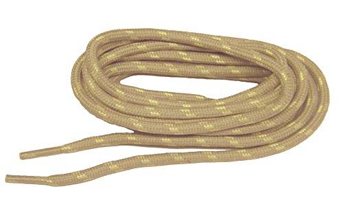 Luce Abbronzatura W / Giallo Kevlar (r) Rinforzato Rinforzato Stivali Lacci Delle Scarpe - (confezione Da 2 Paia)