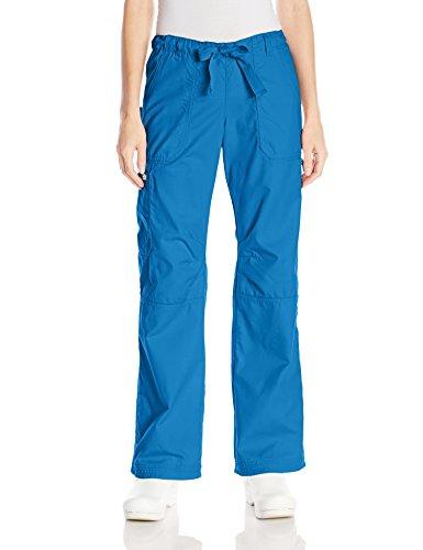 Koi Women's Lindsey Ultra Comfortable Cargo Style Scrub Pants, Royal, - Woman Styles