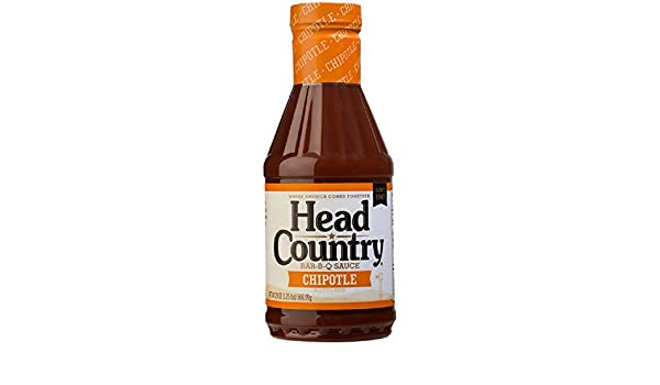 Salsa BBQ Head Country Chipotle BBQ - 567g (20 oz): Amazon.es: Alimentación y bebidas