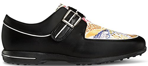 FootJoy Tailored Collection Womens Golf Shoes 91651 Black/Graffiti - 7.5 Medium