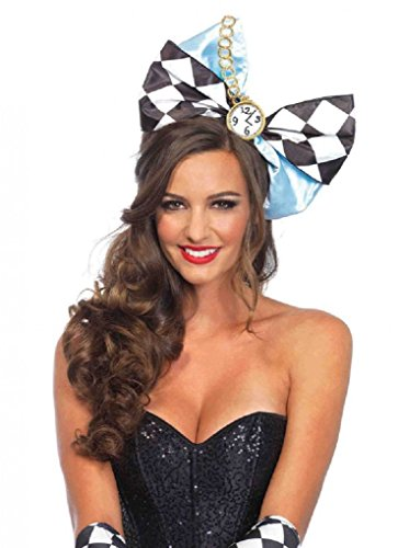 Alice in Wonderland Multi-Use Oversized Bow on Headband