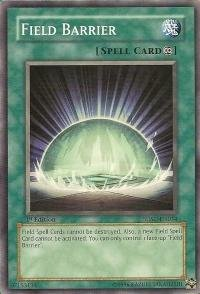 Yu-Gi-Oh! - Field Barrier (SDSC-EN034) - Structure Deck Spellcasters Command - 1st Edition - Common (Best Field Spell Cards)