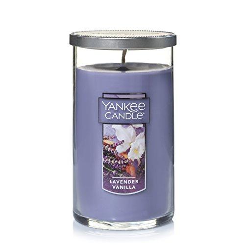 (Yankee Candle Medium Perfect Pillar Candle , Lavender Vanilla)