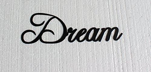 Dream Wall Decor - Dream Word Metal Wall Art Home Decor