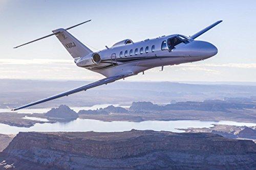 Gifts Delight Laminated 36x24 Poster: Cessna Citation CJ3 Business Jet Gains Brazilian Certification
