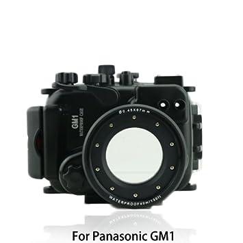 carcasa submarina para cámara Panasonic GM1 - Carcasa acuática para cámaras