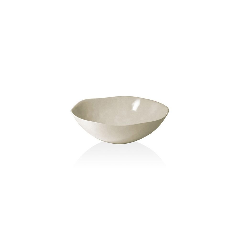 Front of the House DBO096NAB22 Platewise Organic Bowl, 2'' Height, 7'' Diameter, 24 oz, Biodegradable Bamboo, (Pack of 6)