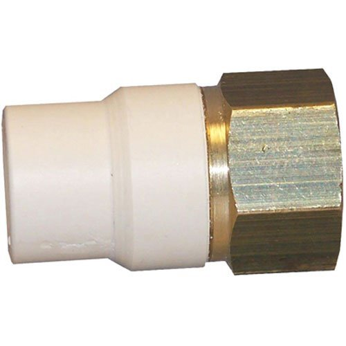 Genova Products Low Lead CPVC Transition Adapter FIP, 1/2