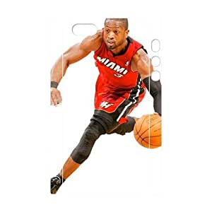 WJHSSB Cell phone Protection Cover 3D Case Dwyane Wade For Iphone 5,5S