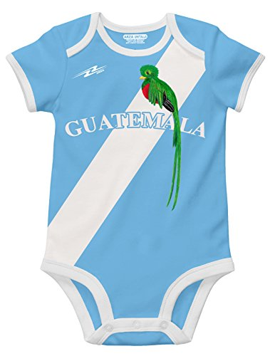 Guatemala Soccer Baby Outfit Onesie Mameluco (Mexico Soccer Uniform)