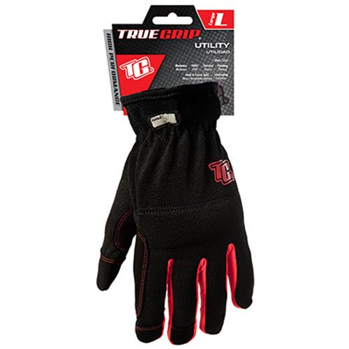 Large 47 Big TIME Products 9083-21 Black//Red Utility Gloves