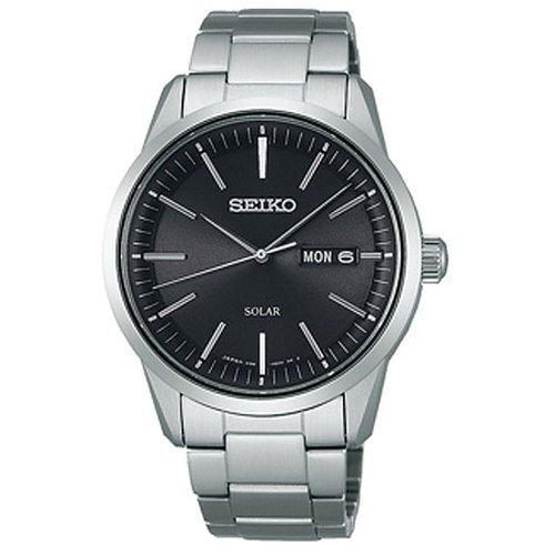 [세이코 손목시계]SEIKO WATCH 손목시계 SPIRIT SMART 스피릿 스마트 솔라 사파이어 유리 일상생활용 강화 방수(10기압) 내자시계 편안히 전갱이《스토반도》 SBPX063 맨즈