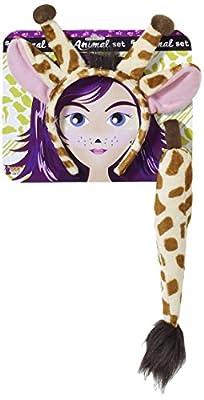 Forum Novelties Women's Playful Animals Giraffe Costume Accessory Set