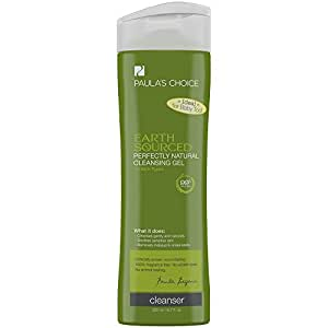 Paula's Choice--EARTH SOURCED Perfectly Natural Cleansing Gel with Aloe--Face Cleanser for Normal, Oily, Combination, Sensitive Skin--6.7oz