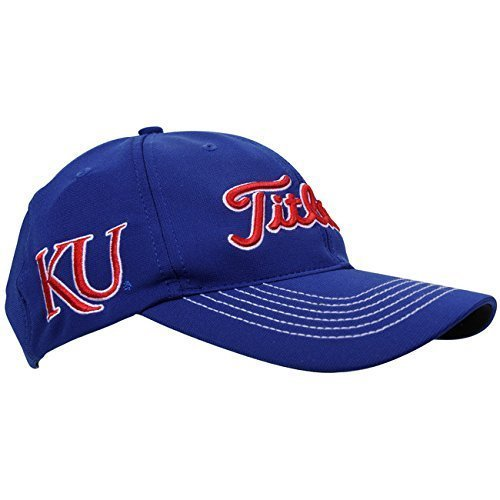 (Titleist NCAA Collegiate Cap Kansas, Medium/Large)