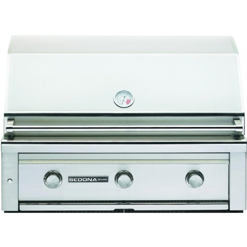Lynx L600PS Sedona 36-Inch Built-In Natural Gas Grill with Pro Sear Burner by Lynx