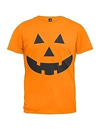 Halloween Jack-O-Lantern Face Youth T-Shirt