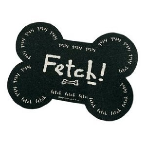 ORE Pet Recycled Rubber Mini Fetch! Placemat - (Recycled Rubber Pet Placemat)