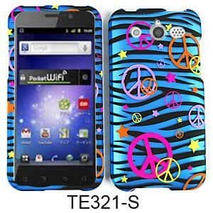 SMOOTH FINISH COVER FOR HUAWEI MERCURY CASE FACEPLATE HARD PLASTIC ZEBRA PEACE TE321-S M886 CELL PHONE ACCESSORY