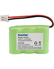 Kastar Battery Replacement for Kaito KA500 KA550 KA600 KA600L 5-Way Weather Alert Shortwave Radio, Eton/GRUNDIG FR200 FR200G FR250 FR300 FR350 FR370 FR400 FR405 FR600 FR600B Radio