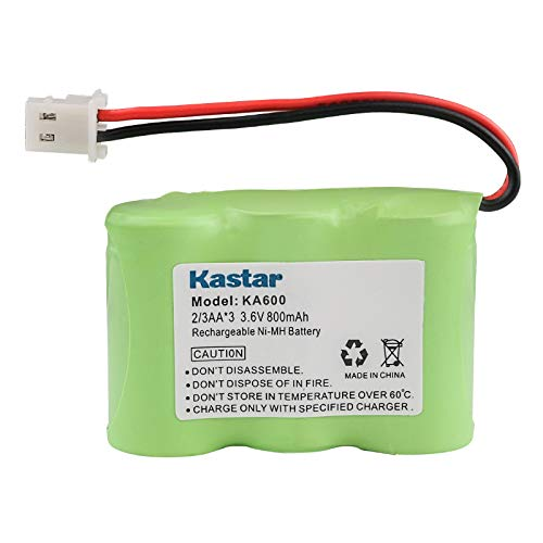 Kastar Battery Replacement for Kaito KA500 KA550 KA600 KA600L 5-way Weather Alert Shortwave Radio, Eton / GRUNDIG FR200 FR200G FR250 FR300 FR350 FR370 FR400 FR405 FR600 FR600B Radio