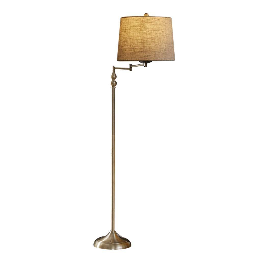 Illuminazione Lampada da terra con braccio di regolazione ...