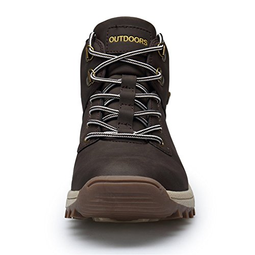 Non Slip Shoes Ankle Waterproof Boots Outdoor Support 1brown Sports Hiking RZEN 572 Lightweight Men f8q0wgq6x
