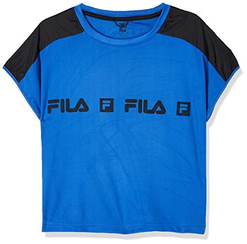 Camiseta Sports Forward, Fila, Feminino, Azul Safira/Preto, G
