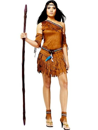 Fun World Women's Pow Wow Native American Costume