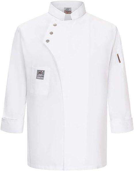 MZ Camisa De Cocinero Cocina Uniforme Manga Corta Camisa La Red De Espalda Y Axila Chaquetas Chef Cocinera,M2,XL: Amazon.es: Deportes y aire libre