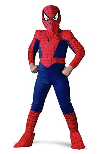 Spider-Man Deluxe Child Costume: Size 10-12