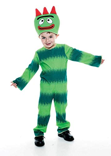 Yo Gabba Gabba Brobee Toddler Costume, Toddler 3/4