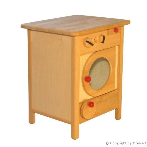 Waschmaschine Holz - Drewart Waschmaschine Natur