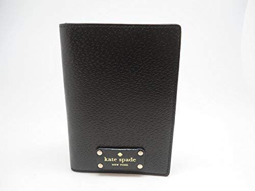 Kate Spade Imogene Leather Passport Holder WLRU2702 black -001