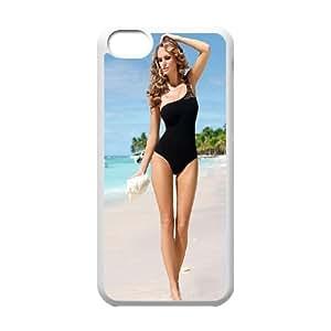 Celebrities Ewelina Olczak iPhone 5c Cell Phone Case White DIY present pjz003_6384444