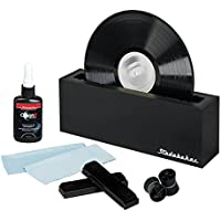 Vinyl Record Cleaning System with Cleaning Solution and Soft Pads Included