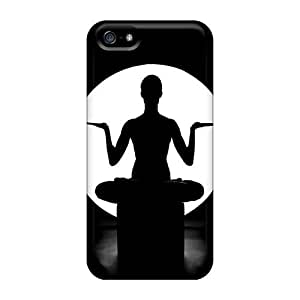Hot Design Premium PC For HTC One M7 Phone Case Cover Protection Case(yoga Meditation)