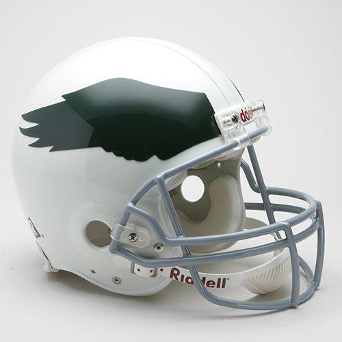 Philadelphia Eagles 1969-73 Throwback Pro Line Helmet (Ultimate Philadelphia Eagles Helmet)