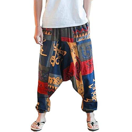 Joggeurs Montré Amples Lâches Yoga Comme Yoga Unisexe Larges Pantalons Fuxitoggo Floraux De Montré Taille M coloré tEZAW