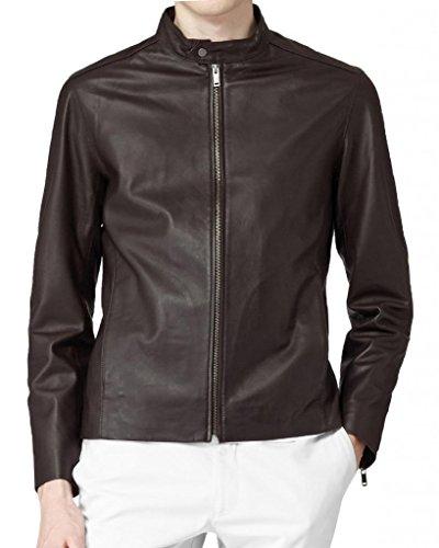 Chaqueta Para Leather Negro Hombre Junction SqgHR1