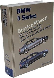Amazon bentley paper repair manual bmw 5 series e39 automotive bentley paper repair manual bmw 5 series e60 e61 fandeluxe Images