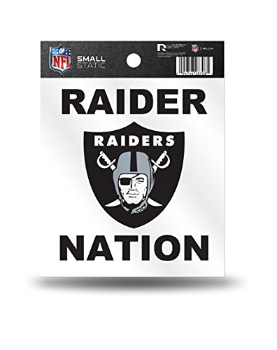 - NFL Oakland Raiders Small Static Decal