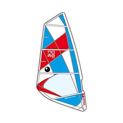 BIC Sport Nova Complete Windsurfing Rig, Red/White/Blue, 5.0 Square Meter by BIC Sport (Image #1)