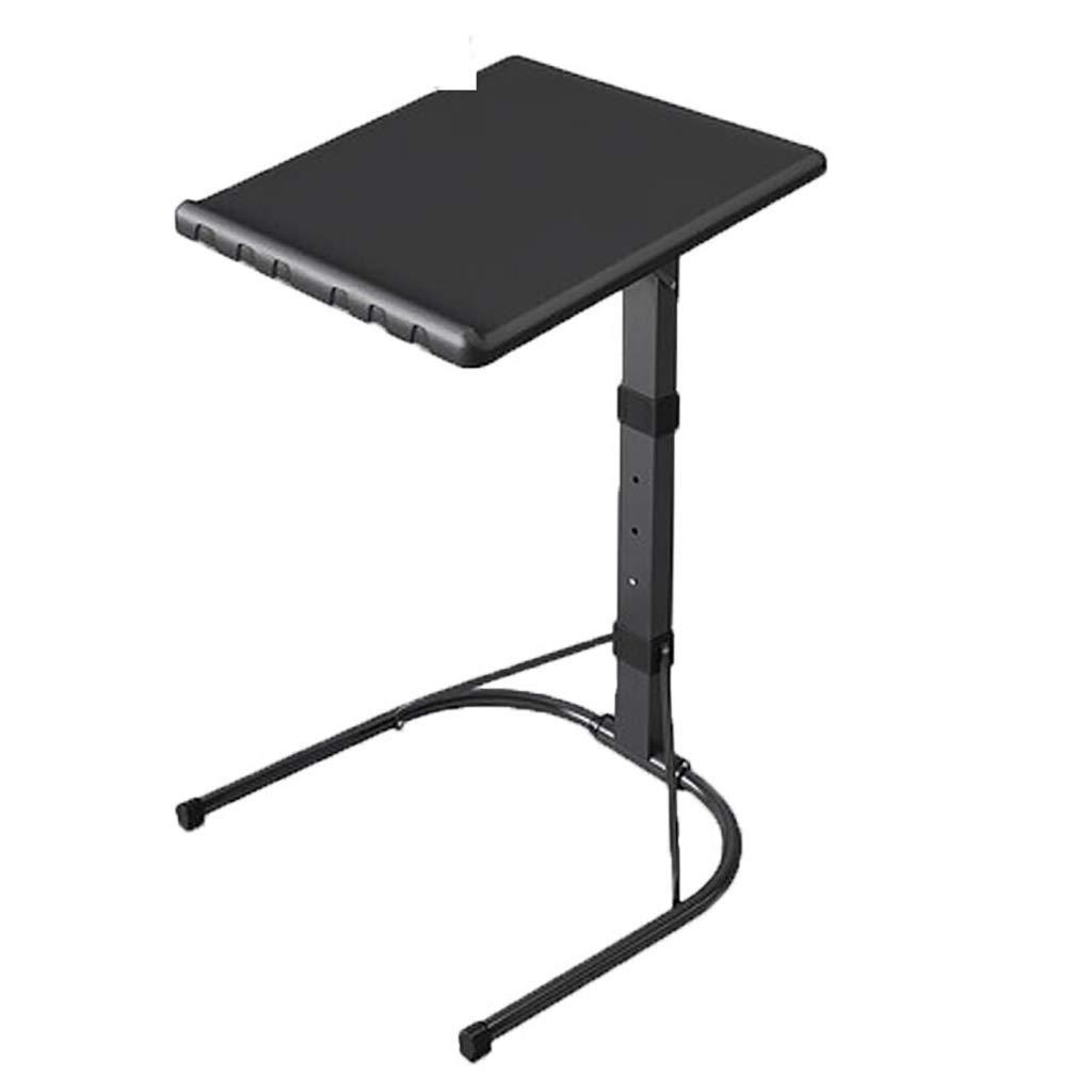 格安人気 調節可能なトレイテーブル 青) - ベッド&ソファのテレビディナートレイ、3つの高さの快適な折りたたみ式テーブル、プラスチック製のシンプルなポータブル折りたたみ式テーブル :、取り外し可能なソファベッドサイド/スナック/エンド ブラック/コンソールノートパソコンデスク (色 : 青) B07QGC2R96 ブラック ブラック, 津田SAKE店:28fae68a --- vanhavertotgracht.nl