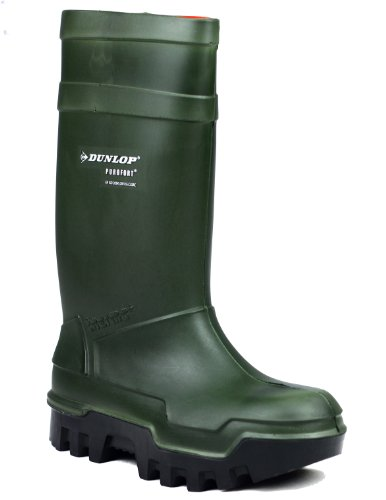 Dunlop C662933 Mens Purofort Thermo Full Safety Wellingtons Boots PU Slip On S8wgXitdN