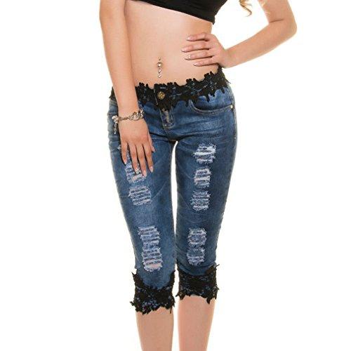 Baja Mezclilla Jeans Sexy Encaje Push Vaqueros Cintura Lápiz Rectos Up Elástica 4 Pantalone Negro Mujer Pantalones de Hibote Skinny de Con Jeggings Casuales 3 Pantalones g0qnFHFvw