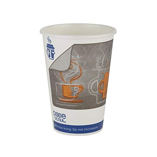 16 Ounce Insulair Cups - Dixie Ultra Insulair Insulated Paper Hot Cup by GP PRO (Georgia-Pacific), Medium, 16 oz, 6346AR, 50 Cups Per Sleeve, 20 Sleeves Per Case (1,000 Count)