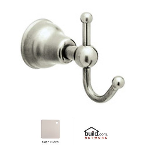 Rohl CIS7STN Single Robe Hook in Satin Nickel by Rohl