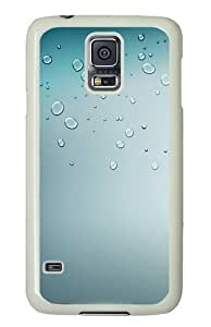 Drops Custom Samsung Galaxy S5/Samsung S5 Case Cover Polycarbonate White